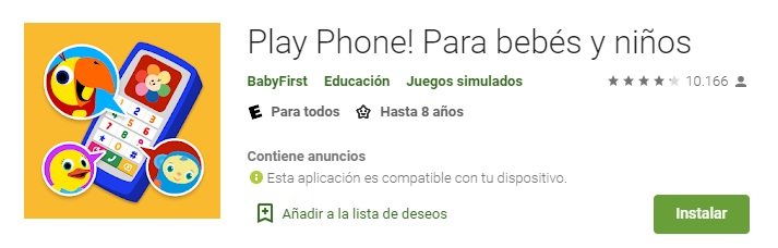 Play Phone para Bebes