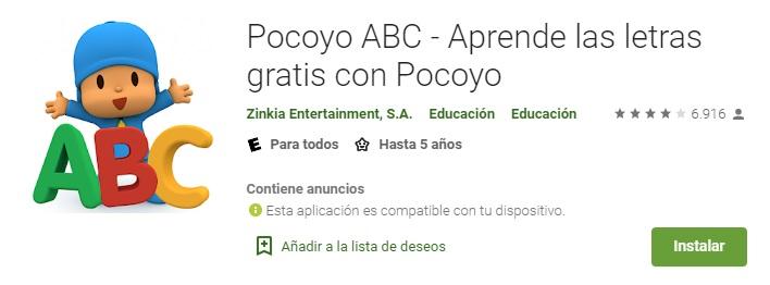 Pocoyo ABC
