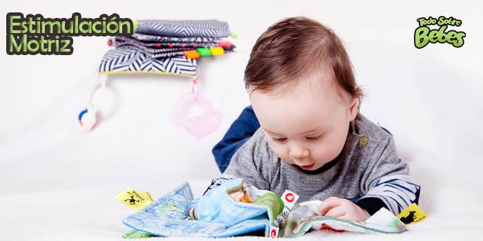 Estimulación motriz en Bebés