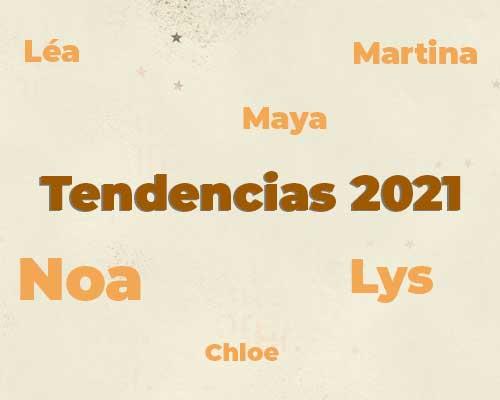 Nombres para Niñas: Tendencias 2021