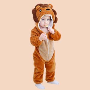 disfraz bebe leon