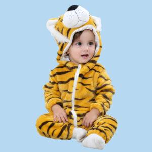 disfraz bebe tigre